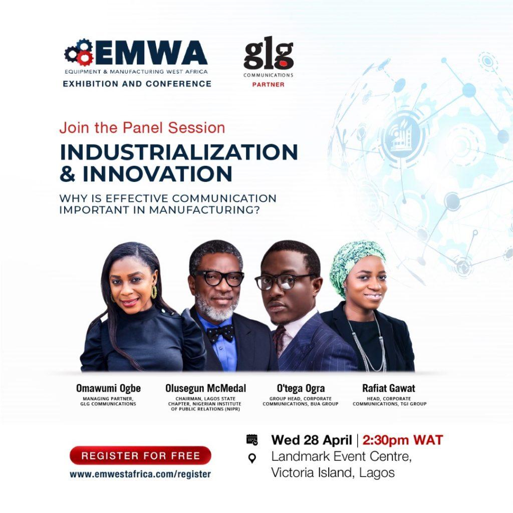 GLG to Discuss on EMWA Panel